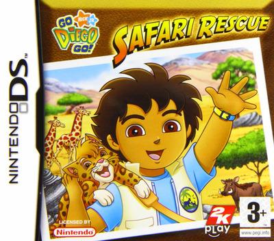 Go, Diego, Go! - Safari Rescue DS coverM (YEQP)