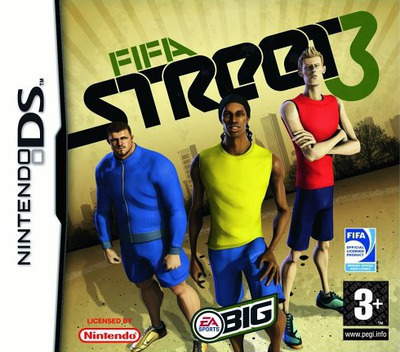 FIFA Street 3 DS coverM (YF3P)
