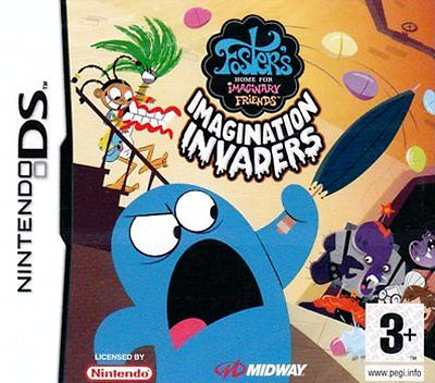Foster's Home for Imaginary Friends - Imagination Invaders DS coverM (YFIP)