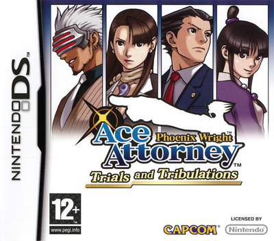 Phoenix Wright - Ace Attorney - Trials and Tribulations DS coverM (YG3X)