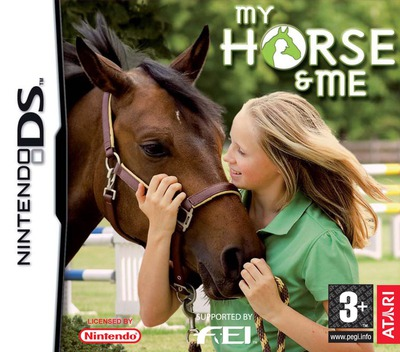 My Horse & Me DS coverM (YHSP)
