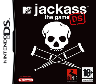 Jackass - The Game DS DS coverM (YJKP)