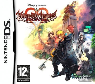 Kingdom Hearts - 358/2 Days DS coverM (YKGP)
