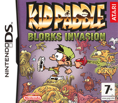 Kid Paddle - Blorks Invasion DS coverM (YKPX)