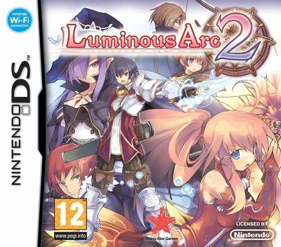 Luminous Arc 2 DS coverM (YL2P)