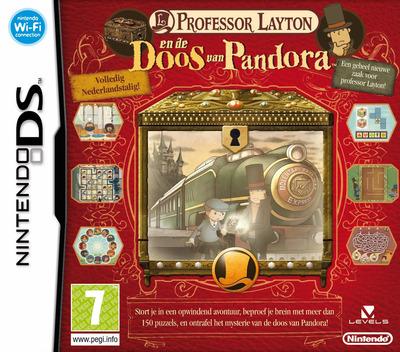 Professor Layton en de Doos van Pandora DS coverM (YLTH)