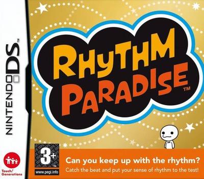 Rhythm Paradise DS coverM (YLZX)