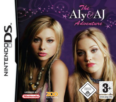 The Aly & AJ Adventure DS coverM (YNYP)