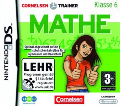 Cornelsen Trainer - Mathe - Klasse 6 DS coverM (YOZP)