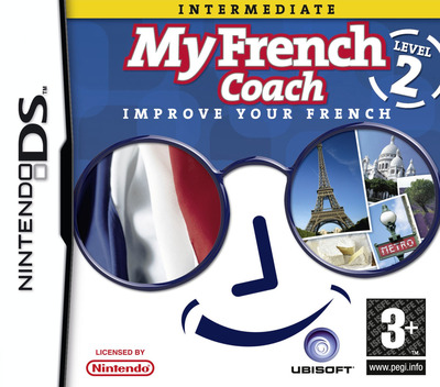 My French Coach - Level 2 - Improve Your French DS coverM (YQFP)