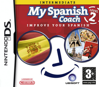 My Spanish Coach - Level 2 - Improve Your Spanish DS coverM (YQSP)