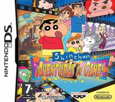 Shin chan - Aventuras de Cine! DS coverM (YRCS)