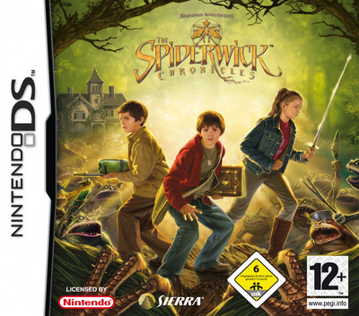 The Spiderwick Chronicles DS coverM (YS8P)