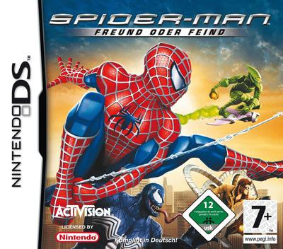 Spider-Man - Freund oder Feind DS coverM (YSFD)
