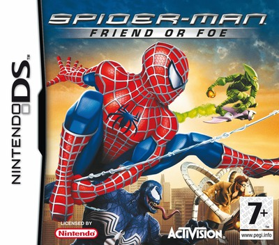 Spider-Man - Friend or Foe DS coverM (YSFP)