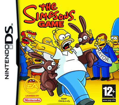 The Simpsons Game DS coverM (YSZP)