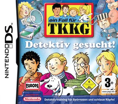 Fall für TKKG, Ein - Detektiv Gesucht! DS coverM (YTDD)