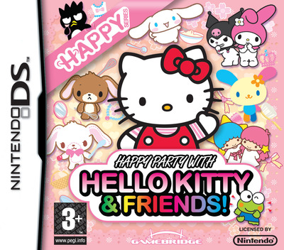 Happy Party with Hello Kitty & Friends! DS coverM (YW3P)
