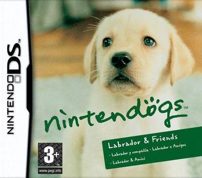 Nintendogs - Labrador e Amigos DS coverM (AD3P)