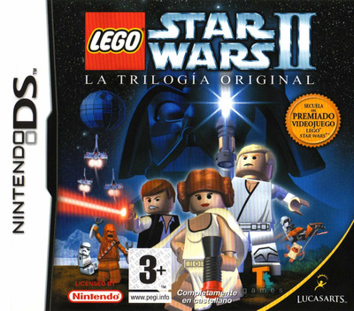 LEGO Star Wars II - La Trilogia Original DS coverM (AL7P)