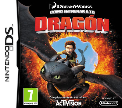 Cómo Entrenar a tu Dragón DS coverM (BHDX)