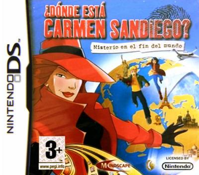 ¿Dónde está Carmen Sandiego? - Ministerio en el fin del mundo DS coverM (CAGX)