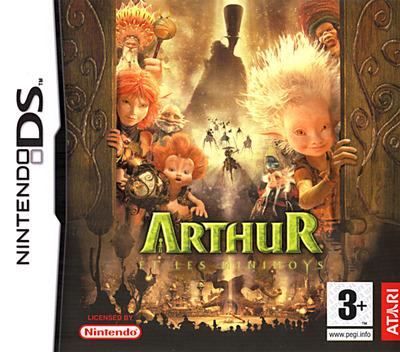Arthur et les Minimoys DS coverM (A2MP)