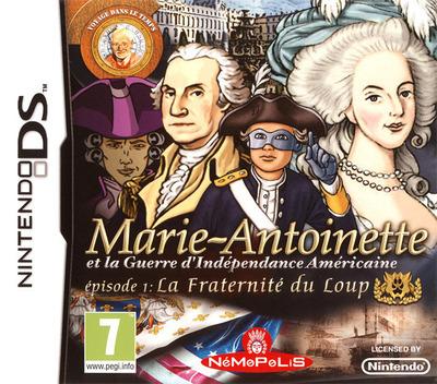Marie-Antoinette et la Guerre d'Indépendance américaine - Episode 1 - la Fraternité du Loup DS coverM (BA5P)