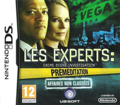 Les Experts - Crime Scene Investigation - Préméditation - Affaires Non Classées DS coverM (BCIP)