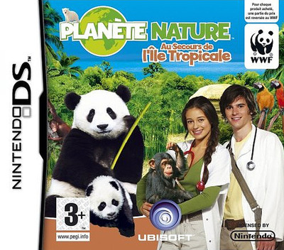 Planète Nature - Au Secours de l'Ile Tropicale DS coverM (CGQP)