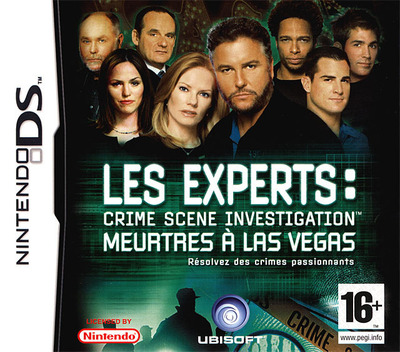 Les Experts - Crime Scene Investigation - Meurtres à Las Vegas DS coverM (YDMP)
