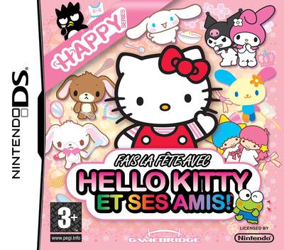 Fais la fête avec Hello Kitty et ses Amis! DS coverM (YW3P)