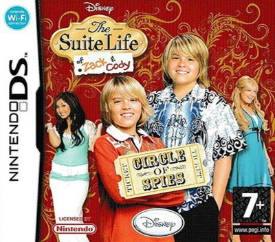 The Suite Life of Zack & Cody - Circle of Spies DS coverM (A3HP)