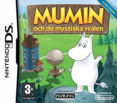 Mumin och de mystiska vrålen DS coverM (CULX)