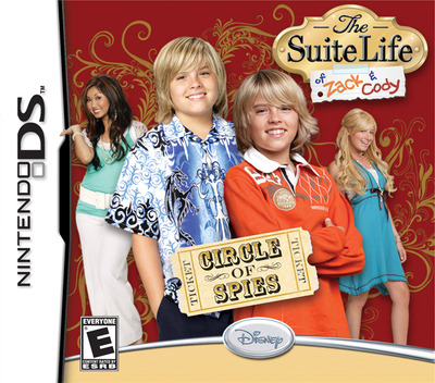 The Suite Life of Zack & Cody - Circle of Spies DS coverM (A3HE)
