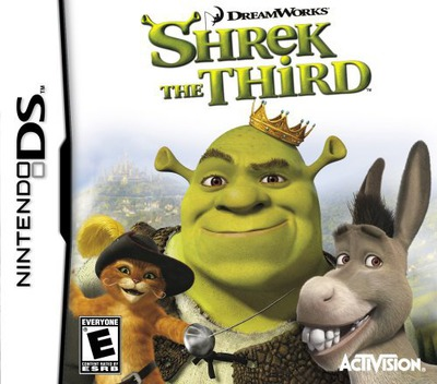 Shrek the Third DS coverM (A3SE)