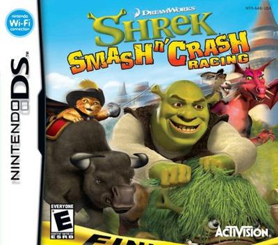 Shrek - Smash n' Crash Racing DS coverM (A4IE)