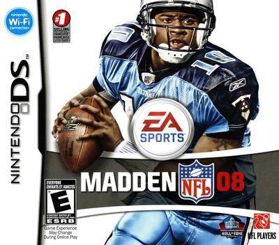 Madden NFL 08 DS coverM (A5UE)