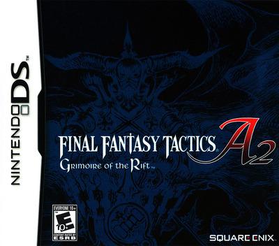 Final Fantasy Tactics A2 - Grimoire of the Rift DS coverM (A6FE)