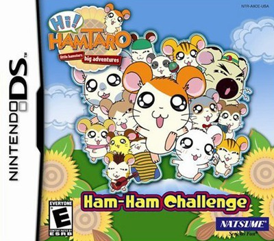 Hi! Hamtaro - Ham-Ham Challenge DS coverM (A8CE)