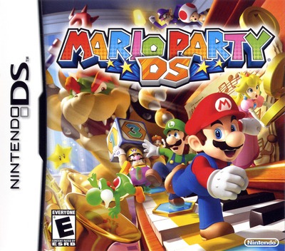 Mario Party DS DS coverM (A8TE)