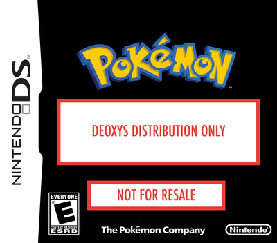 Deoxys Distribution 2008 DS coverM (AARE)