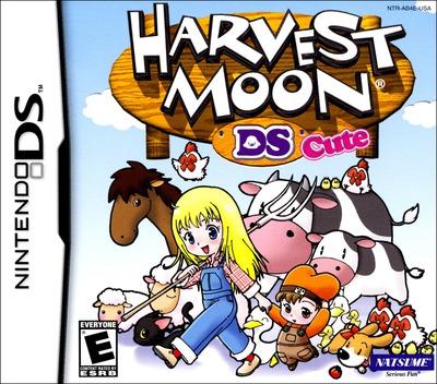 Harvest Moon DS Cute DS coverM (AB4E)
