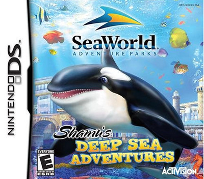 Shamu's Deep Sea Adventures DS coverM (ABAE)