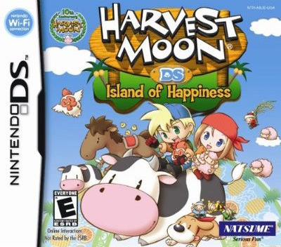 Harvest Moon DS - Island of Happiness DS coverM (ABJE)
