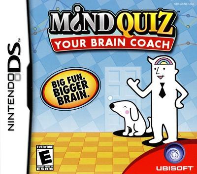 Mind Quiz - Your Brain Coach DS coverM (ACNE)