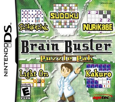 Brain Buster - Puzzle Pak DS coverM (ACPE)