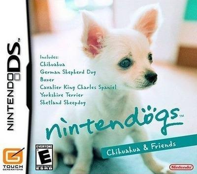 Nintendogs - Chihuahua & Friends DS coverM (AD2E)