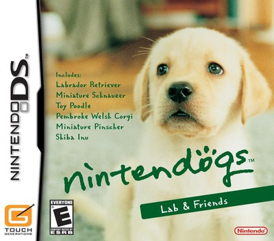 Nintendogs - Lab & Friends DS coverM (AD3E)