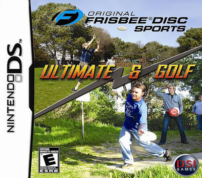 Original Frisbee Disc Sports - Ultimate & Golf DS coverM (AFBE)